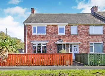 Thumbnail 3 bed semi-detached house for sale in Lumley Gardens, Burnopfield, Newcastle Upon Tyne