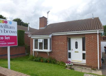 Thumbnail 2 bed bungalow to rent in Middlegate Field Drive, Whitwell, Worksop