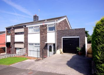 Thumbnail 3 bedroom semi-detached house for sale in Corfe Avenue, Plymouth