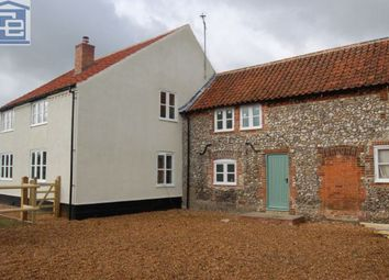 Thumbnail 3 bedroom detached house to rent in Ramp Row, Bircham Road, Stanhoe, King's Lynn