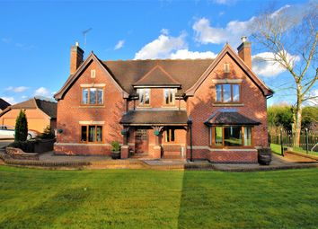 Thumbnail 4 bed detached house for sale in Doveleys Manor Park, Nr Rocester