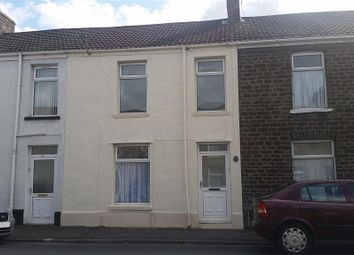 Thumbnail 3 bed terraced house to rent in Regent Street East, Briton Ferry, Neath