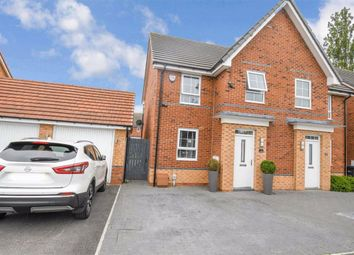 Thumbnail 3 bed semi-detached house for sale in Simpson Crescent, Hull