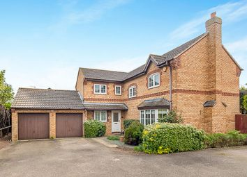 Thumbnail 4 bedroom detached house for sale in Newbold Close, Oundle, Peterborough