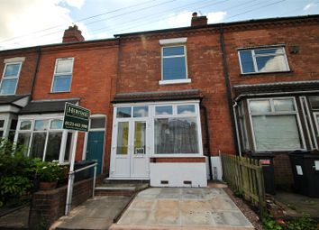 Thumbnail 2 bed terraced house for sale in Institute Road, Kings Heath, Birmingham