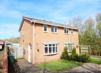 Thumbnail 2 bedroom semi-detached house for sale in Elder Close, Heath Hayes