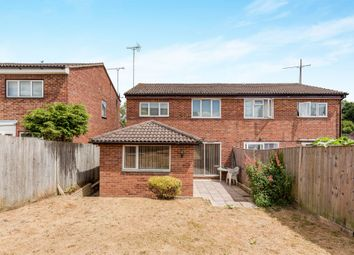 Thumbnail 3 bed semi-detached house for sale in Hawmead, Crawley Down, Crawley
