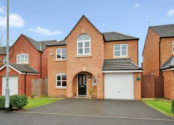 Thumbnail 4 bedroom detached house for sale in Powder Mill Road, Edgewater Park, Warrington
