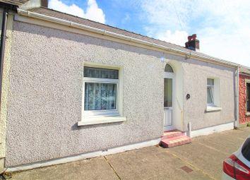Thumbnail 3 bed terraced bungalow for sale in Owen Street, Pennar, Pembroke Dock, Pembrokeshire.