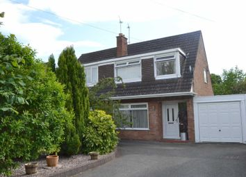 Thumbnail 3 bed semi-detached house for sale in Wentworth Drive, Bromborough, Wirral