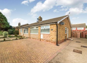Thumbnail 2 bed bungalow for sale in Bradworth Drive, Scarborough