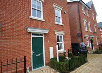 Thumbnail 3 bed town house to rent in Cavalry Road, Colchester, Essex