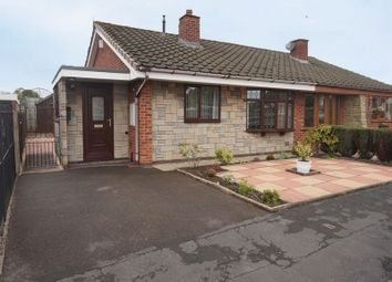 Thumbnail 2 bed semi-detached bungalow for sale in Ingelow Close, Blurton, Stoke-On-Trent, Staffordshire