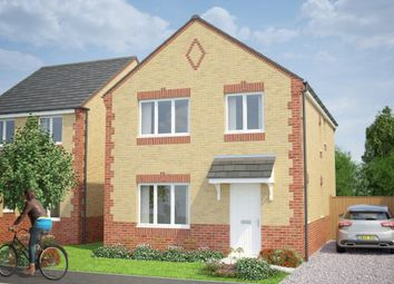 Thumbnail 4 bed detached house for sale in Woodhorn Lane, Ashington