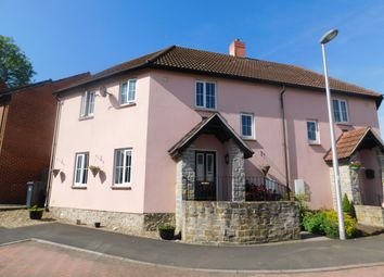 Thumbnail 3 bed semi-detached house for sale in Flax Meadow Lane, Axminster
