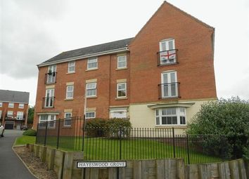 Thumbnail 2 bed flat to rent in Hayeswood Grove, Norton Heights, Stoke-On-Trent