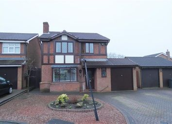 Thumbnail 4 bed detached house for sale in Bluebell Road, Upper Stonnall, Walsall Wood, Walsall