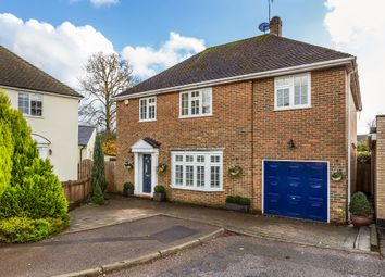 Thumbnail 4 bed detached house for sale in Cronks Hill Close, Redhill