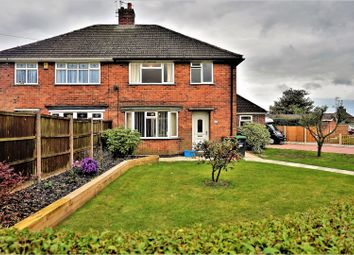 Thumbnail 3 bed semi-detached house for sale in Poplar Avenue, Nottingham