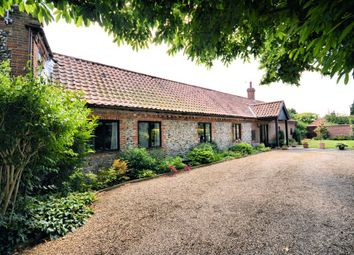 Thumbnail 3 bedroom barn conversion to rent in Thursford Road, Little Snoring, Fakenham