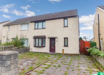 Thumbnail 3 bed semi-detached house for sale in Newton Avenue, Port Talbot, Neath Port Talbot.