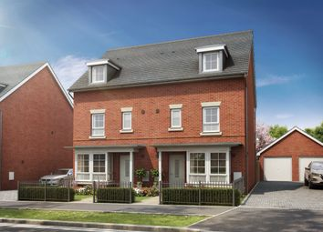 "Thumbnail 4 bed semi-detached house for sale in ""Woodvale"" at Hospital Hill, Aldershot"