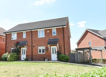 Thumbnail 3 bed semi-detached house for sale in Minster Grove, Wokingham, Berkshire