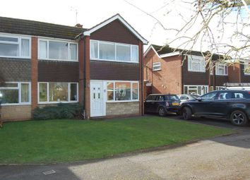 Thumbnail 3 bed semi-detached house for sale in Arrow Drive, Albrighton, Wolverhampton
