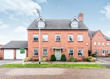 Thumbnail 5 bed detached house for sale in Barlow Drive, Fradley, Near Lichfield, Staffordshire