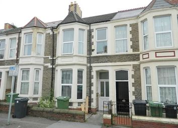 Thumbnail 5 bedroom terraced house to rent in Tewkesbury Street, Cardiff