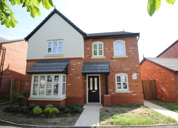 Thumbnail 4 bed detached house for sale in Manor Lane, Holmes Chapel, Crewe