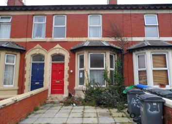 Thumbnail 4 bed terraced house for sale in Chesterfield Road, Blackpool