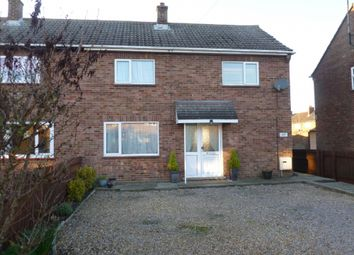 Thumbnail 3 bed semi-detached house for sale in Tithe Road, Chatteris