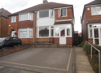 Thumbnail 3 bed property to rent in Mildenhall Road, Great Barr, Birmingham