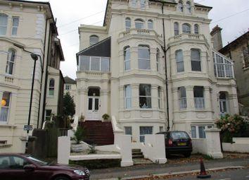 Thumbnail 3 bed flat for sale in Cornwallis Gardens, Hastings
