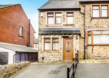 Thumbnail 2 bed end terrace house for sale in William Street, Crosland Moor, Huddersfield