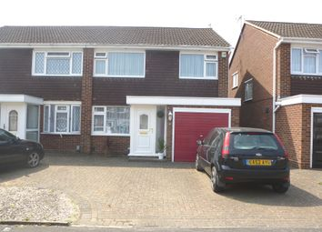 Thumbnail 3 bed semi-detached house for sale in Ranworth Avenue, Hoddesdon