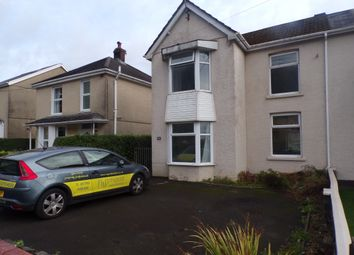Thumbnail 3 bedroom semi-detached house to rent in Brecon Road, Pontardawe