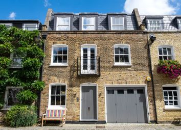 Pindock Mews, Little Venice, London W9. 4 bed mews house for sale
