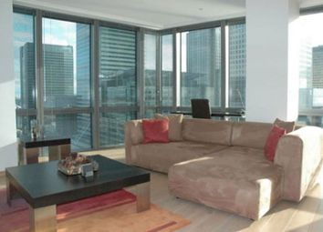 Thumbnail 1 bed flat to rent in One West India Quay, Hertsmere Road, London