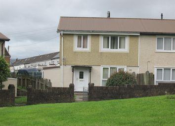 Thumbnail 3 bed semi-detached house for sale in Tai'r Twynau, Pant, Merthyr Tydfil