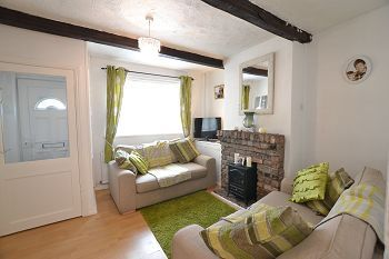 Thumbnail 2 bed terraced house for sale in Mill Lane, Macclesfield, Cheshire