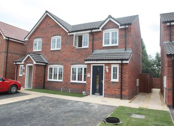 Thumbnail 3 bed semi-detached house to rent in Malthouse Mews, Pontefract