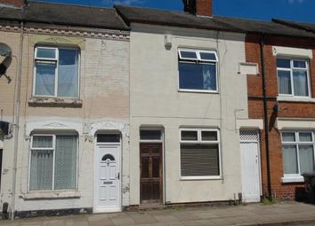 Thumbnail 2 bed terraced house for sale in Wordsworth Road, Leicester