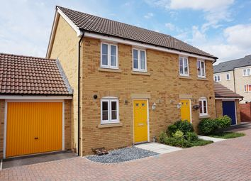 Thumbnail 2 bedroom semi-detached house for sale in Enstone Close, Swindon