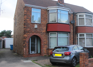 Thumbnail 3 bed semi-detached house for sale in Gillshill Road, Hull