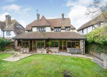 Thumbnail 4 bed detached house for sale in Dean Court Road, Rottingdean, Brighton, East Sussex
