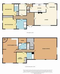 Thumbnail 3 bed detached house for sale in Manor Park, Darrington, Pontefract