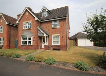 Thumbnail 4 bed detached house for sale in Teveray Drive, Penkridge, Stafford