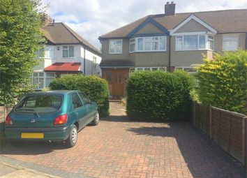 Thumbnail 3 bed semi-detached house for sale in Ashby Avenue, Chessington